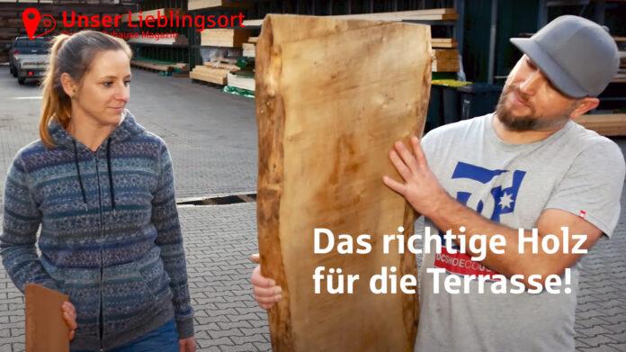 Das richtige Holz für die Terrasse